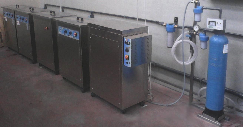 impianti di lavaggio e trattamento