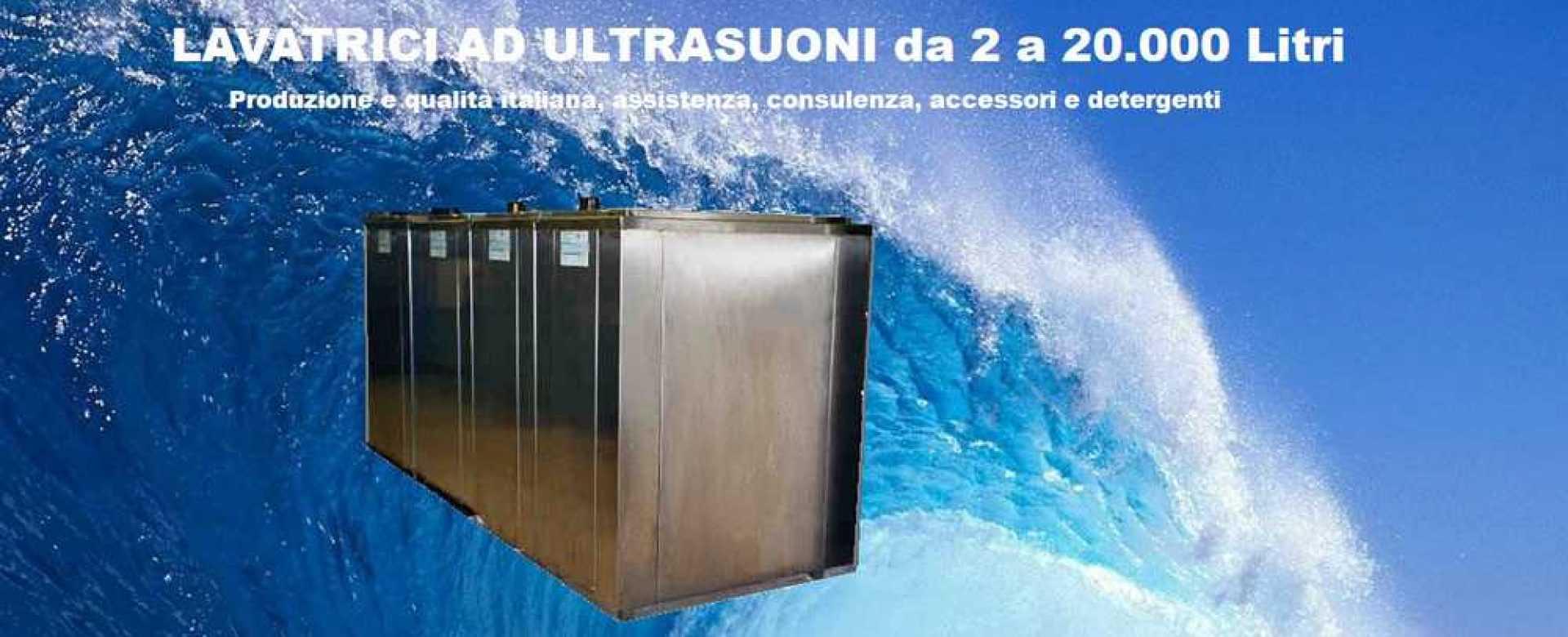 Lavatrici ultrasuoni ad alta tecnologia