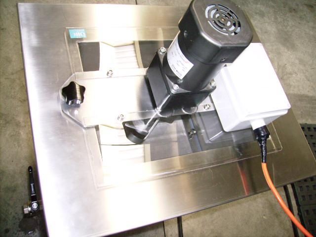 dewatering con rotazione e ultrasuoni