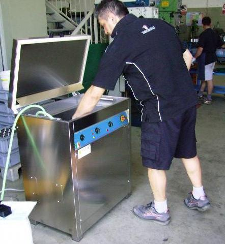 Lavatrice ultrasuoni digitali 35 litri