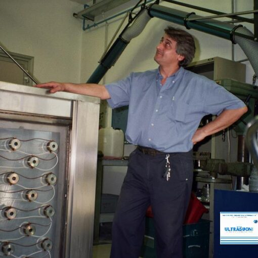 lavatrici per grandi motori alluminio