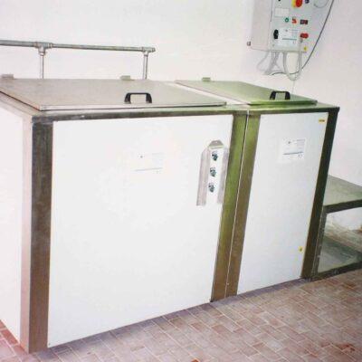 impianto di lavaggio stampi