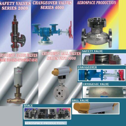 componenti per gas e settore spazio
