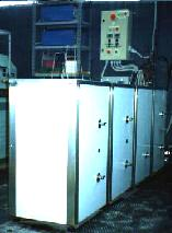 machines from two to two thousand liters of useful capacity